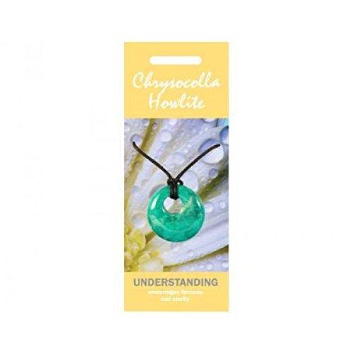 chrysokoll howlith halsketteanhaenger agogo jewellery for understanding - Chrysokoll Howlith Halskette/Anhänger Agogo, Jewellery for Understanding