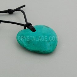 gemini geburtsstein halskette herzform chrysokoll howlith - Gemini Geburtsstein-Halskette, Herzform, Chrysokoll Howlith